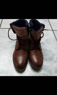 Zara 高筒靴 靴子 EU39號