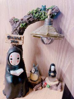 宮崎駿精緻木刻桌上擺飾