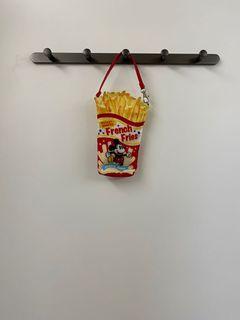 東京迪士尼正版米奇米妮薯條包