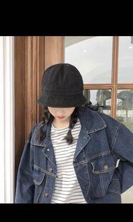 全新|黑色漁夫帽