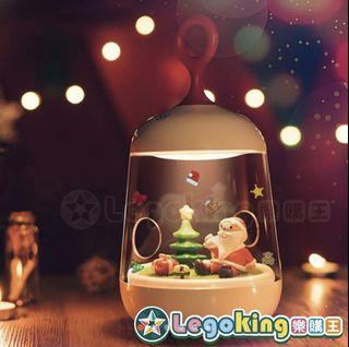 ★聖誕節【微造景聖誕夜燈】交換禮物首選 小夜燈 聖誕微造景