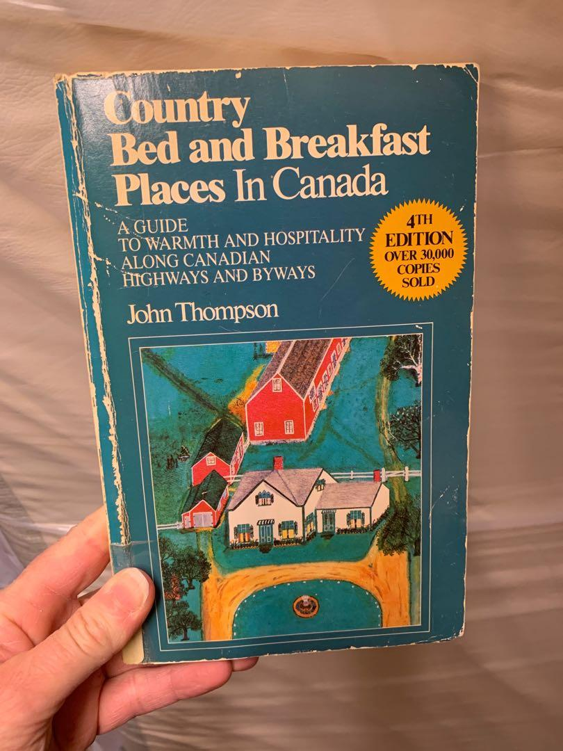 Bed and breakfast places in Canada.