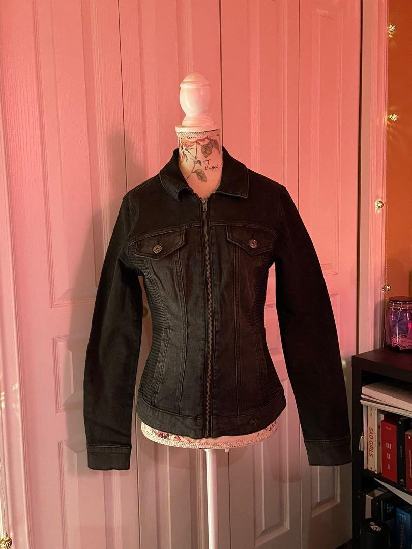 Black Guess Jean Jacket