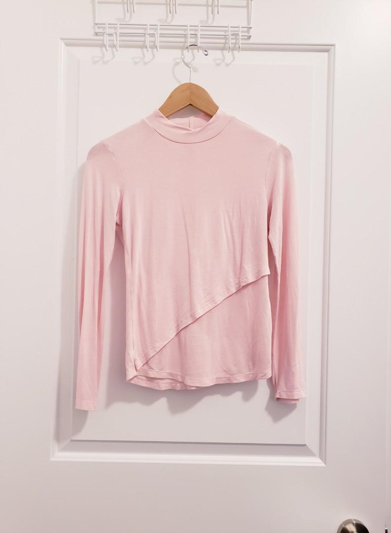 Brandy Melville Pink Top - Size S