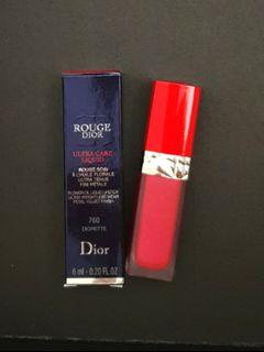 Dior 迪奧超惹火絲絨唇露 #760