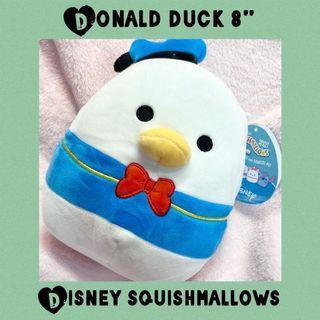 "Disney Squishmallows Donald Duck 8"" Plush Squish"