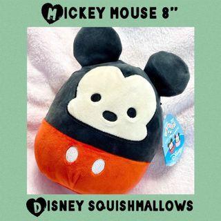 "Disney Squishmallows Mickey Mouse 8"" Plush Squishie"