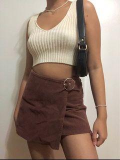 Forever 21 Brown Corduroy Skirt 🤎