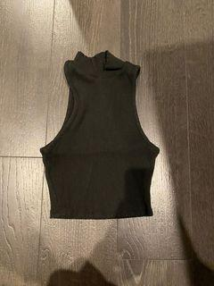 M Boutique ribbed tank top