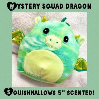 "Mystery Squad Squishmallows Dragon 5"" Scented  Plush Squishie"