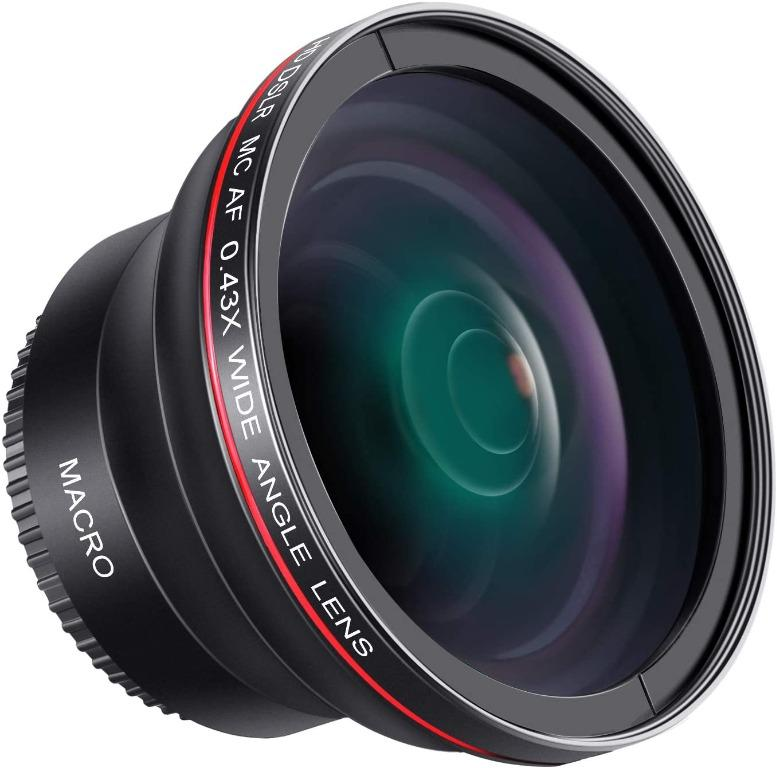 New 0.43x High Definition Wide Angle Conversion Lens for Sony 20mm f//2.8 Alpha E-Mount