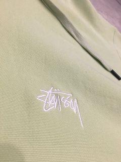 Stussy pastel-green hoodie