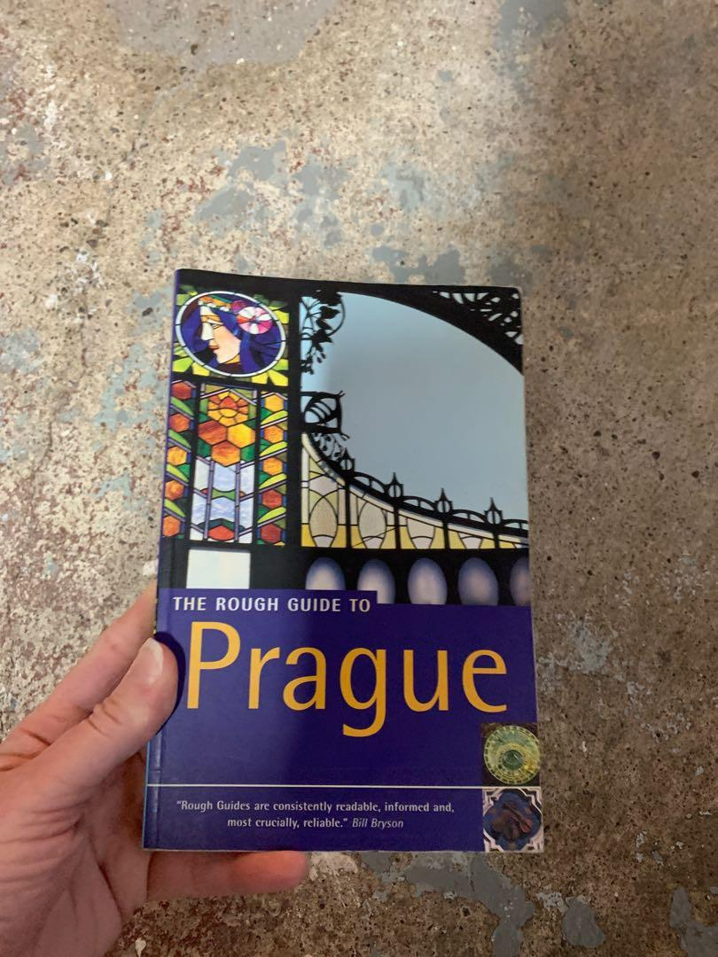 The Rough Guide To Prague travel book