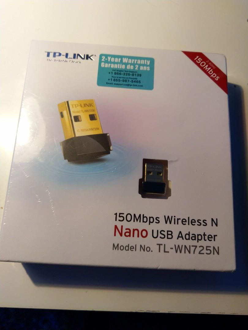 TP-LINK Wireless Nano USB Adapter (2.4GHz, 150Mbps)