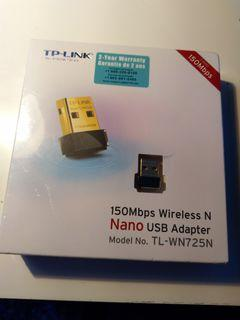TP-LINK Wireless Nano USB Adapter (2.4GHz, 150Mbps)
