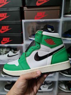 US10W Jordan 1 lucky green