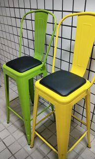 工業風高腳椅