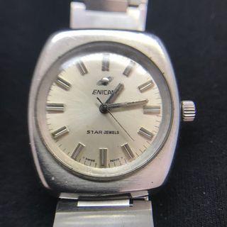 英納格 手上鍊 古董錶 已洗油保養完成走時正常