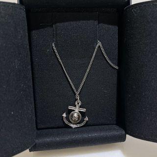 【全新】專櫃正品 chanel 香奈兒 海軍 船錨 項鍊 銀