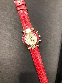 (超級罕有) Chopard 蕭邦 Imperiale watch with diamond and Rubies