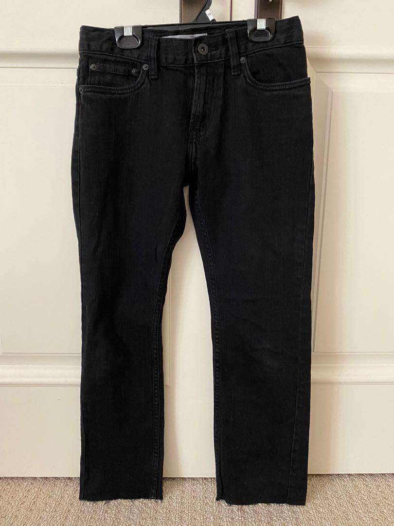Levi's Black Straight Leg Jeans