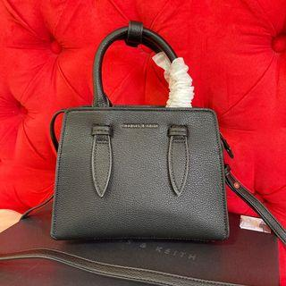 Charles and Keith Small Leather crossbody Bag