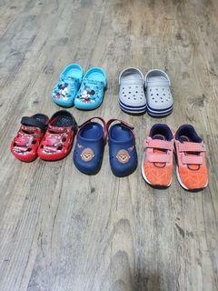 (5 for $25) EUC Toddler shoes various brands