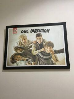 Frame Poster One Direction