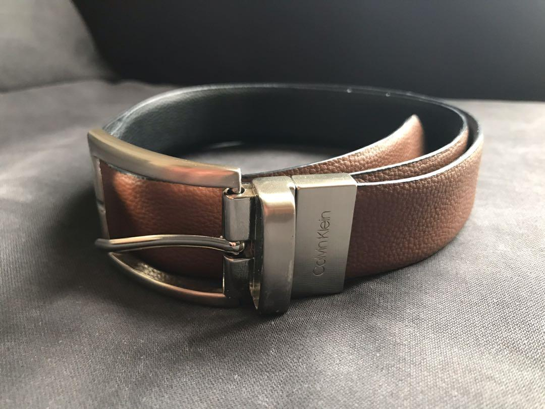 GUC Calvin Klein M/M synthetic leather belt