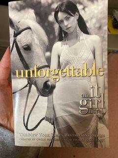 It girl: unforgettable