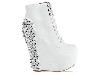 Jeffrey Campbell - Damsel Spiked White