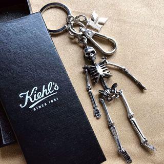 Kiehl's契爾氏骷顱造型金屬鑰匙圈