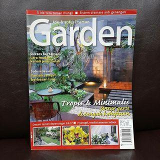 Majalah Garden -  April 2010 Edisi 37 - majalah desain taman rumah tanaman flora (preloved) #women2021