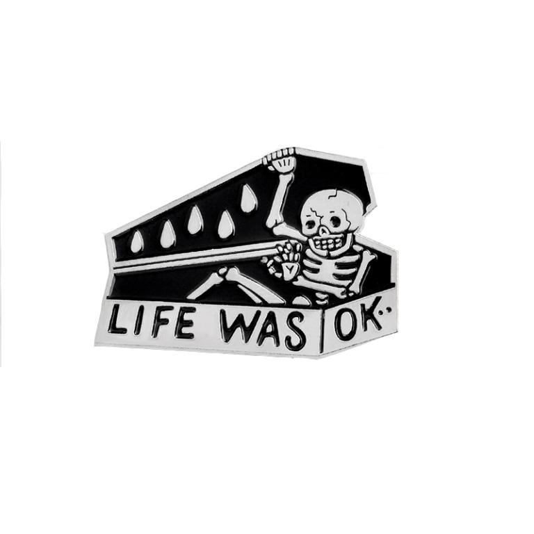 Maxwelle Pin Badge (Limited Stocks)lle