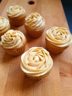 Peanut Butter Cupcakes with Peanut Butter Buttercream