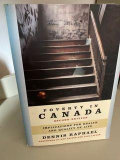 Poverty in Canada 2nd edition