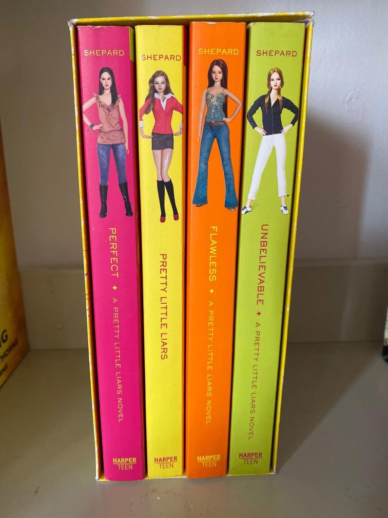 Pretty little liars book series (4)