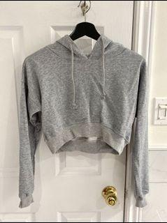 Shein cropped hoodie