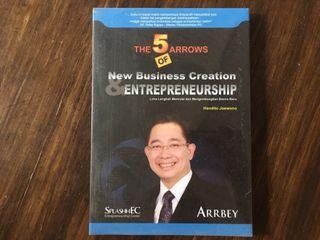 The 5 Arrows of New Business Creation & Entrepreneurship