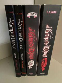 The vampire diaries (4) books
