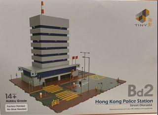 Tiny Bd2 警署 警察局 模型  非消防局 救護站