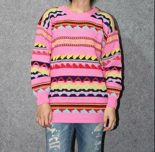 Tribal multicolour sweater