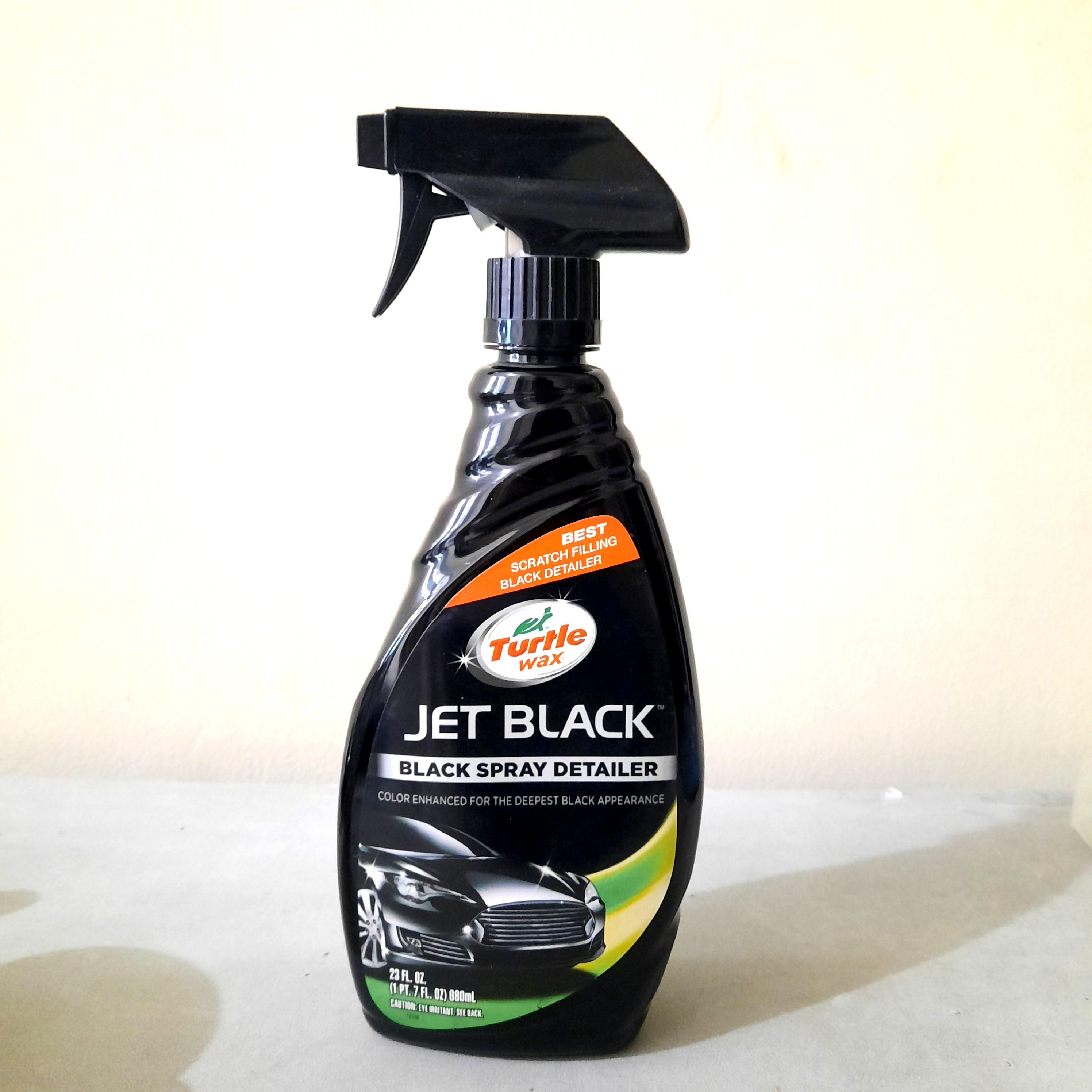 Turtle Wax Jet Black Spray Detailer 680 ml