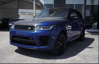 2020 Range Rover SVR 5.0 V8 P575 UNREG