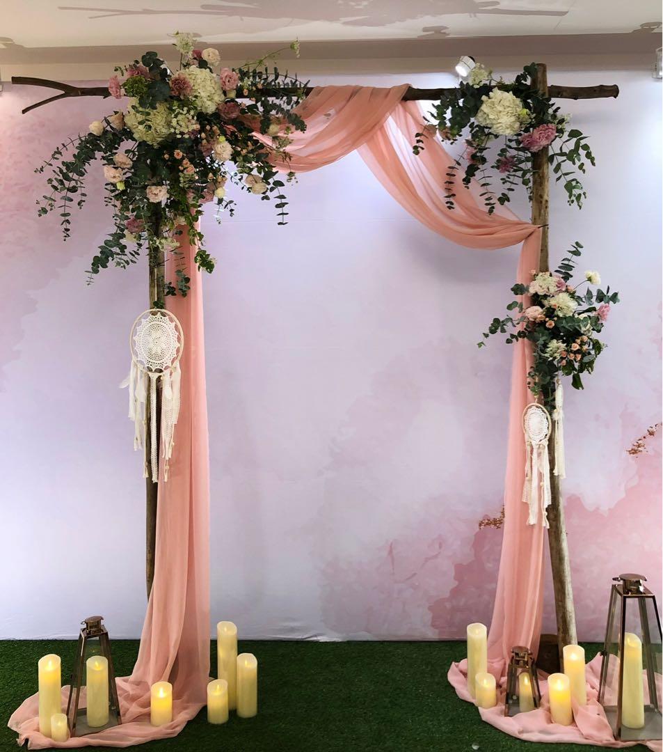 婚禮拱門租借~~單拱門不含其它配飾