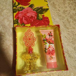 Betsy Johnson Perfume Set