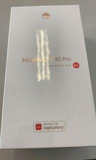 (Brand New & Sealed) Huawei P40 Pro - 8GB+256GB + FREE wireless car charger