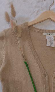 #Sale Brownie Cardigan Semi Crop