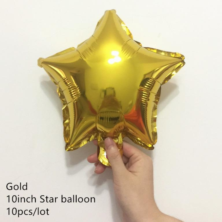 Carmenalle balloon – star 10 pcs (Limited Stocks)