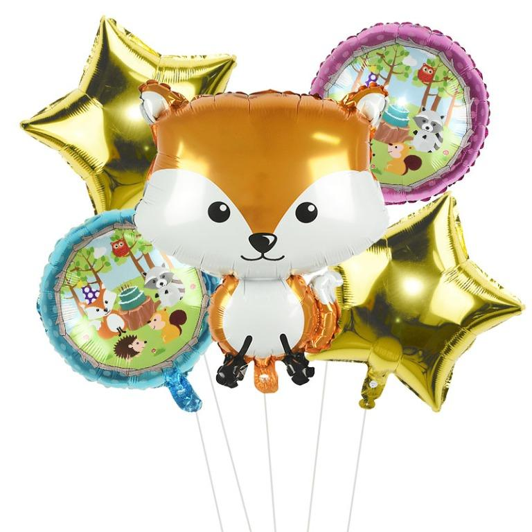 Dahliaalle balloon- cute animals 4 (Limited Stocks)